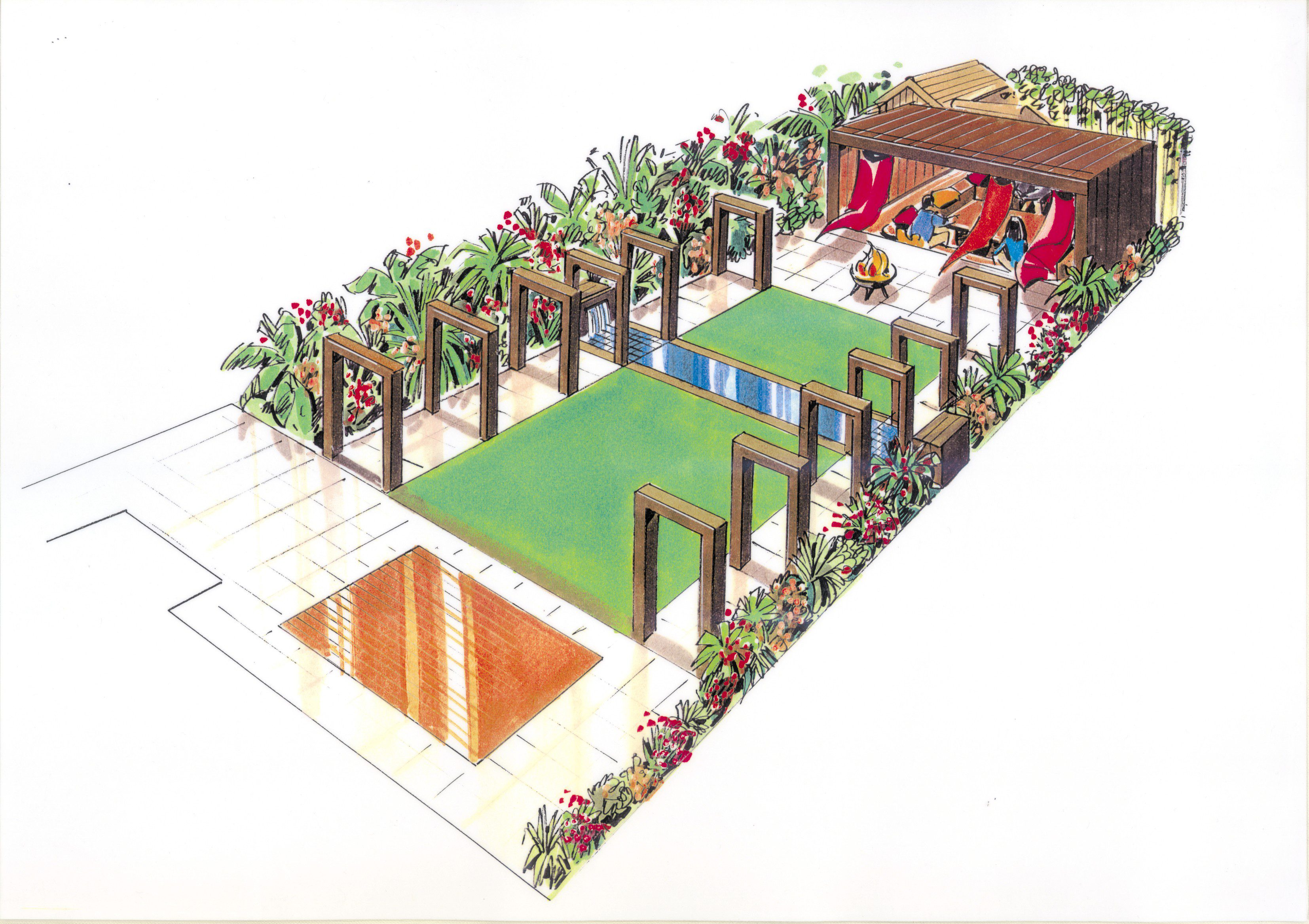 North london garden design garden of the month march 2010 for Children friendly garden designs