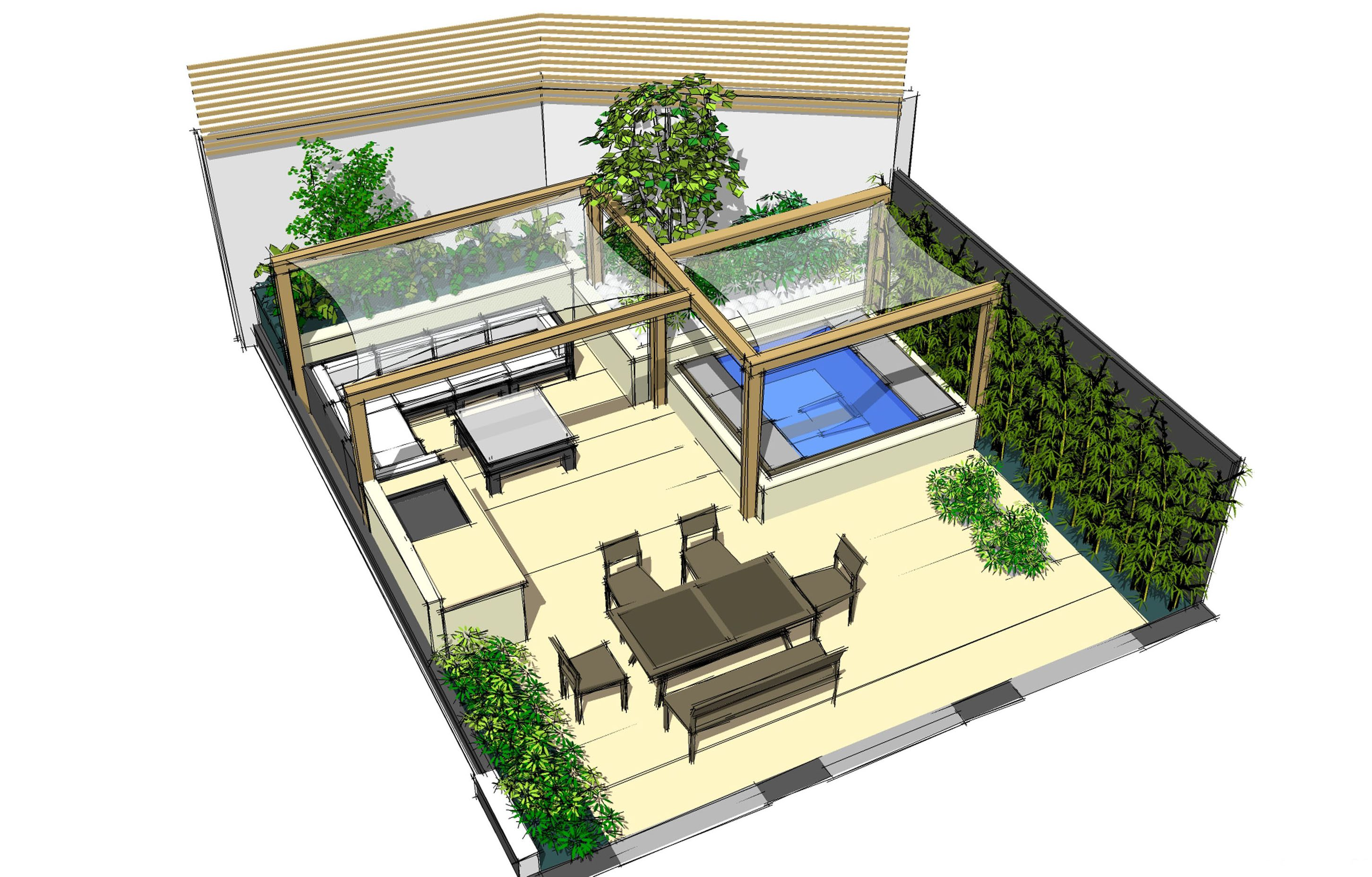 Garden Build in Holloway London N7 Earth Designs Garden Design