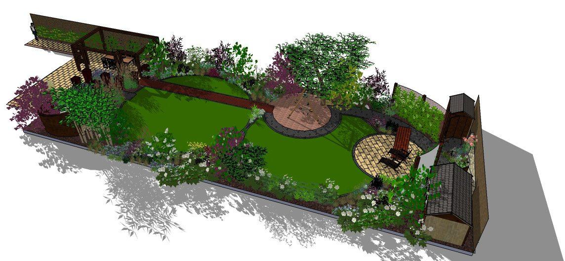 Creating A Family Garden In Abingdon Oxford With A