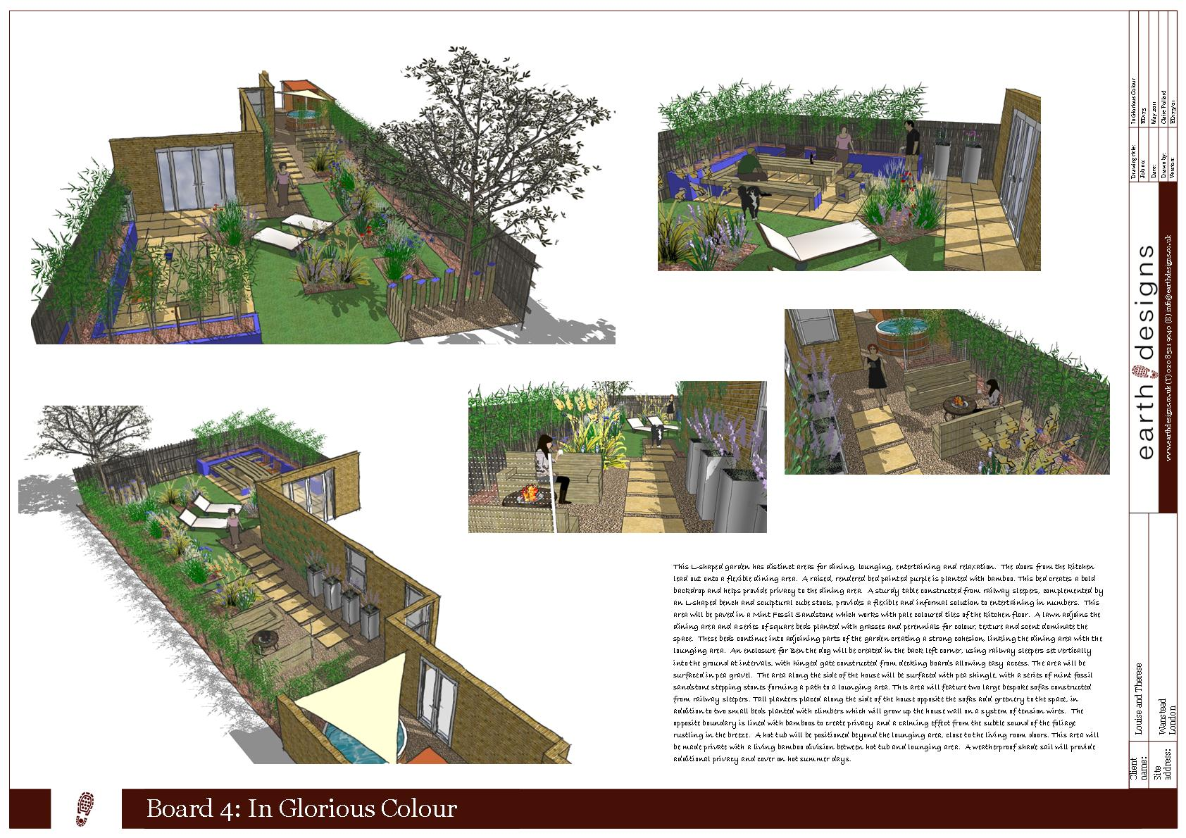 garden design london wanstead visuals - Garden Design London