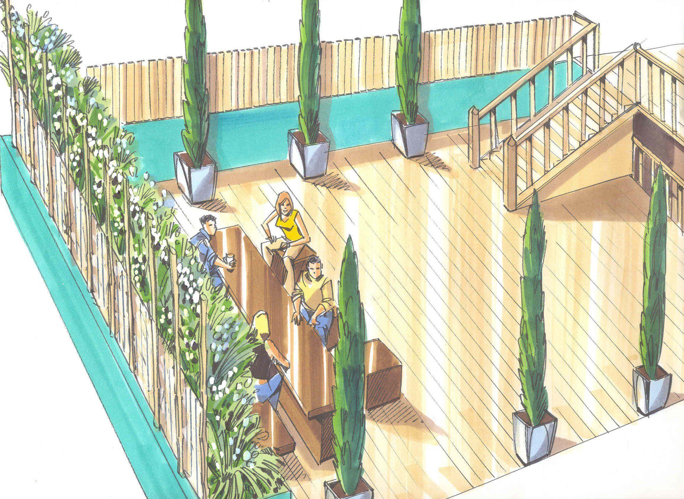 London garden design garden of the month january 2013 for Garden design visualiser