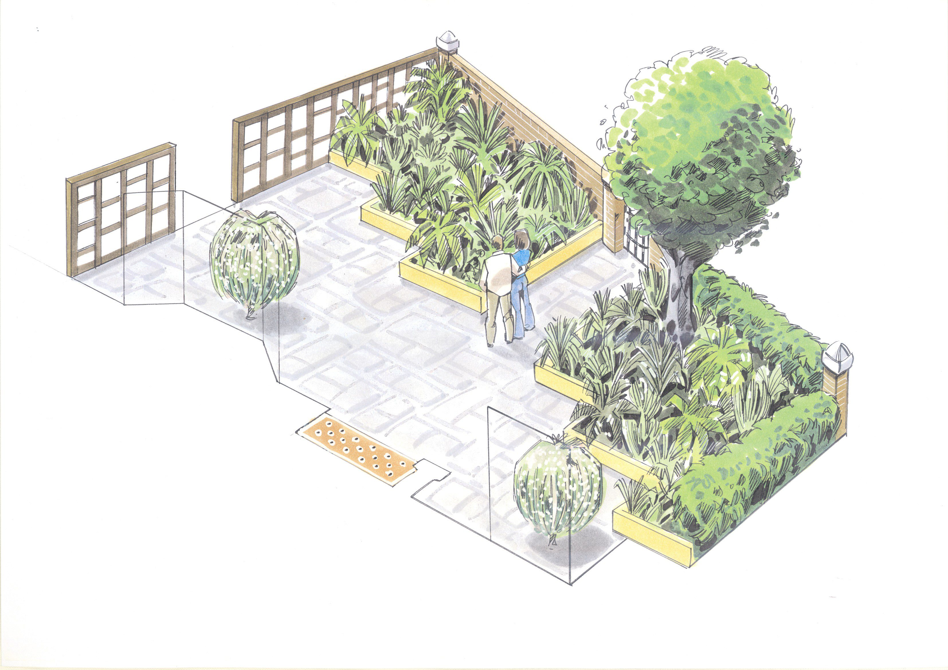 london garden design garden of the month june 2012