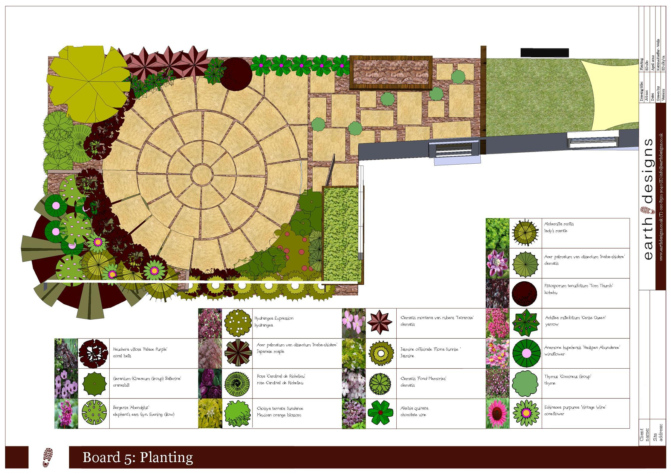 Small Garden Design on a budget - Walthamstow garden packs ...