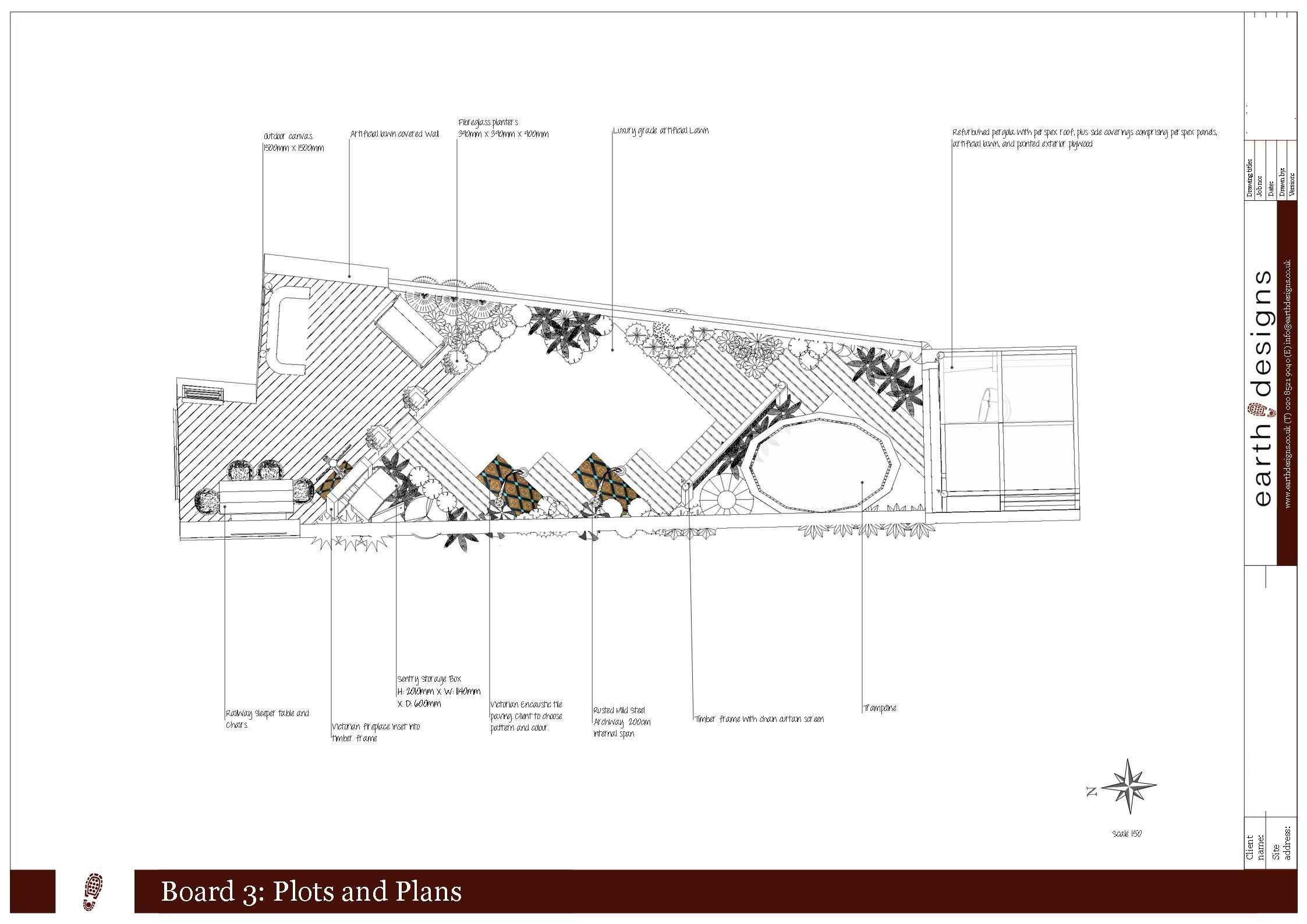 Garden Layouts What Suits My Plot Earth Designs Garden Design