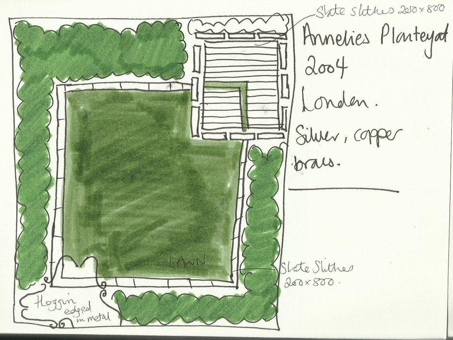 Simple Family Garden Design A Garden With Two Views Earth - Simple family garden designs