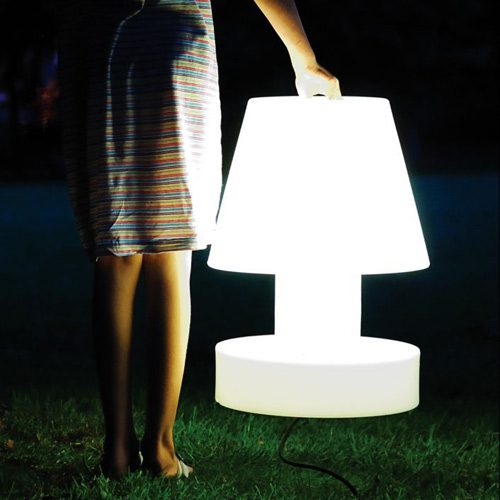 Light Your Path Funky Portable Lamps Earth Designs