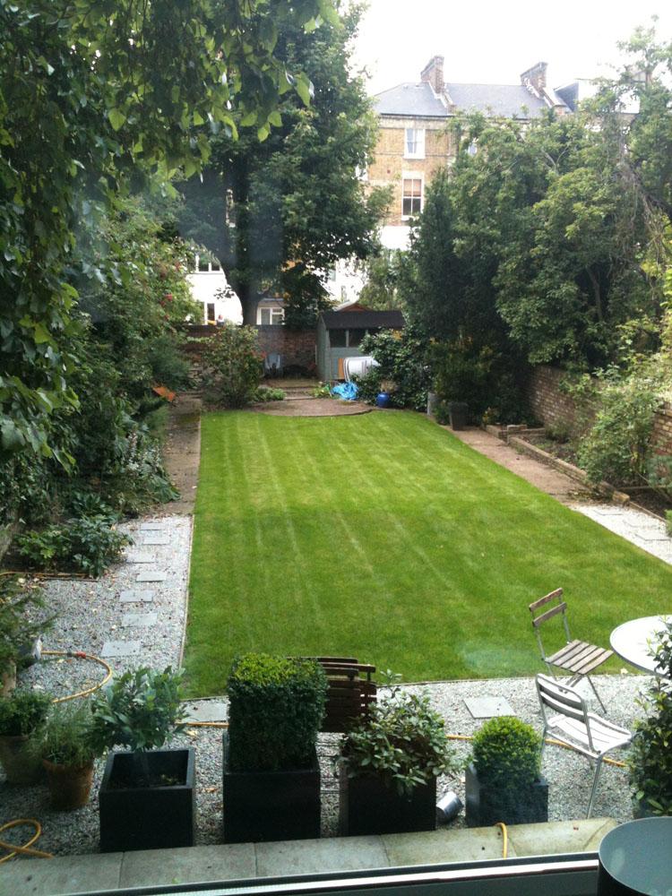 Before Shot Garden Design North London
