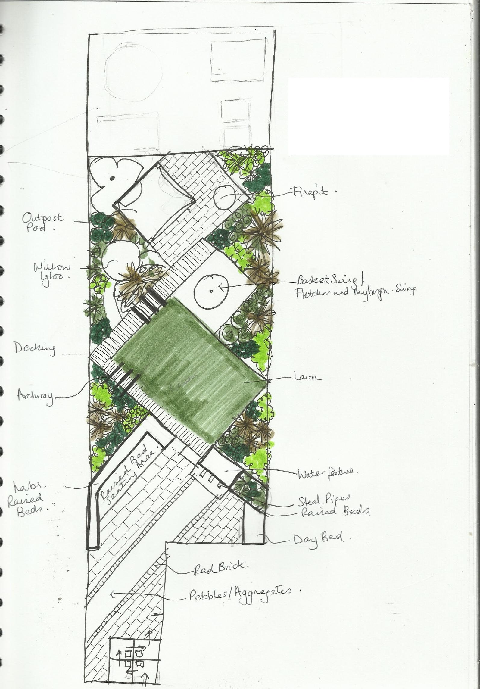 East london garden designs are all things to all people for Garden design east london