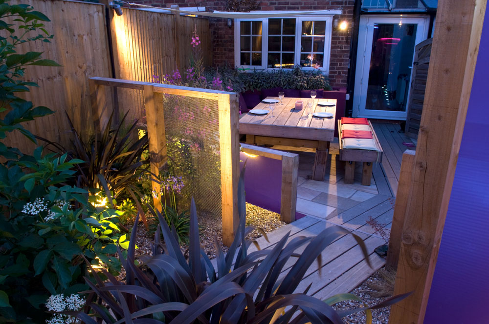 Modern Lighting Garden Design Sevenoaks Kent ...