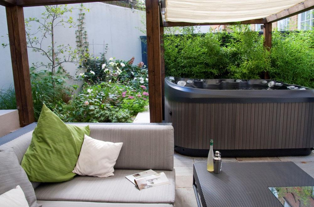 Exceptionnel Hot Tub Garden Design North London   Earth Designs Garden Design And Build