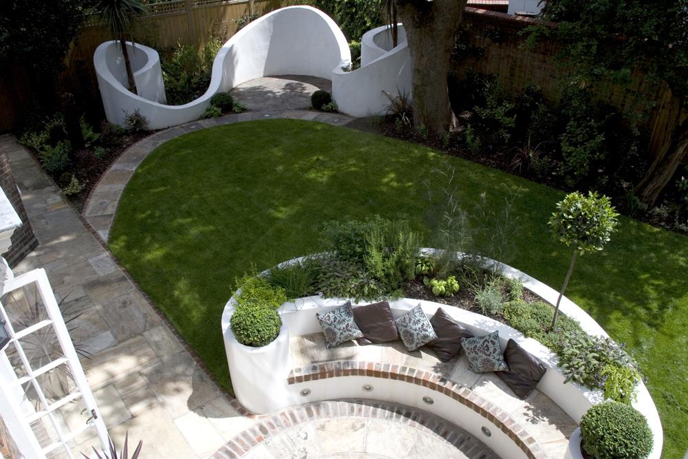 Portfolio earth designs garden design and build for Family garden designs