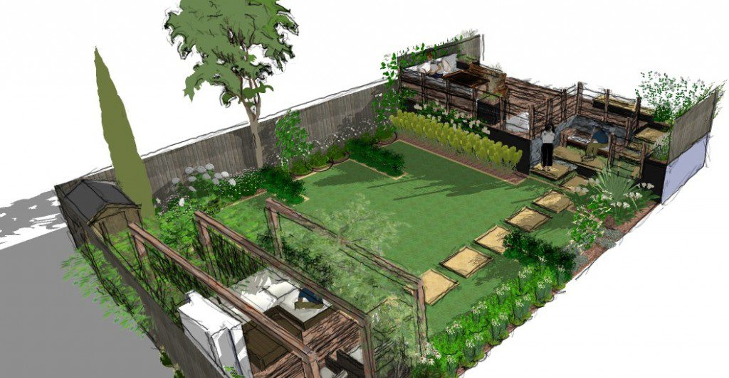 Blog page 10 of 65 earth designs garden design and build for Split level garden designs