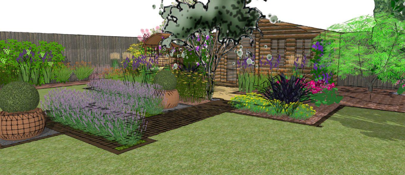 Visual 2 earth designs garden design and build for Garden design visualiser