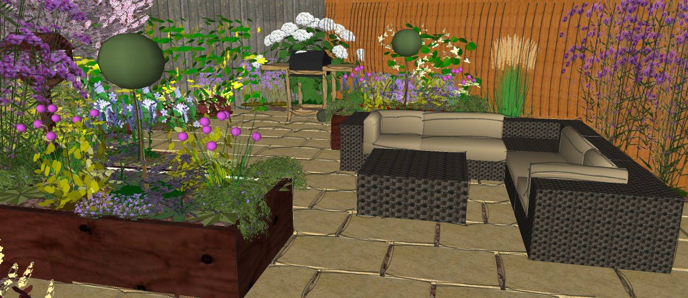 Modern Garden Design Presentation - Wildlife Friendly ...