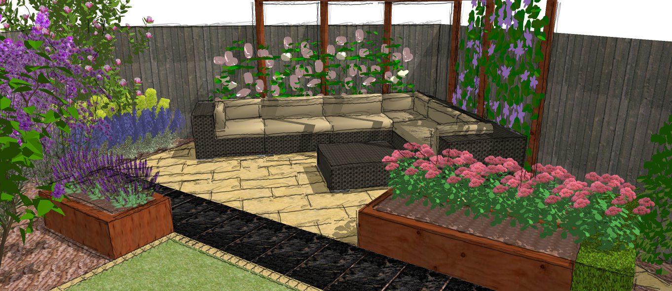 Visual 7 earth designs garden design and build for Garden design visualiser