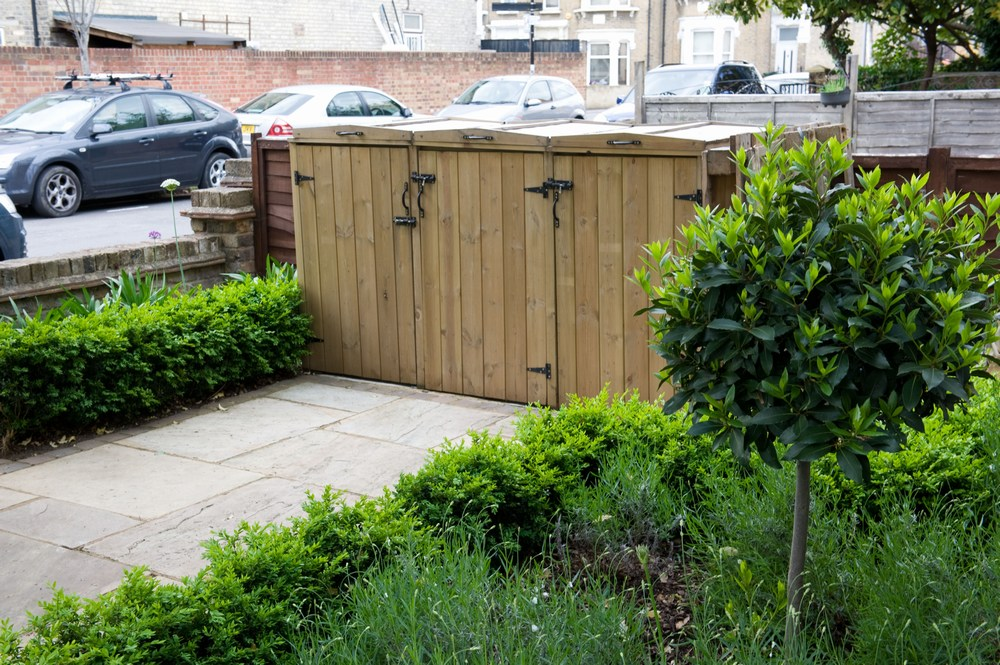 front garden bin store - Front Garden Ideas London
