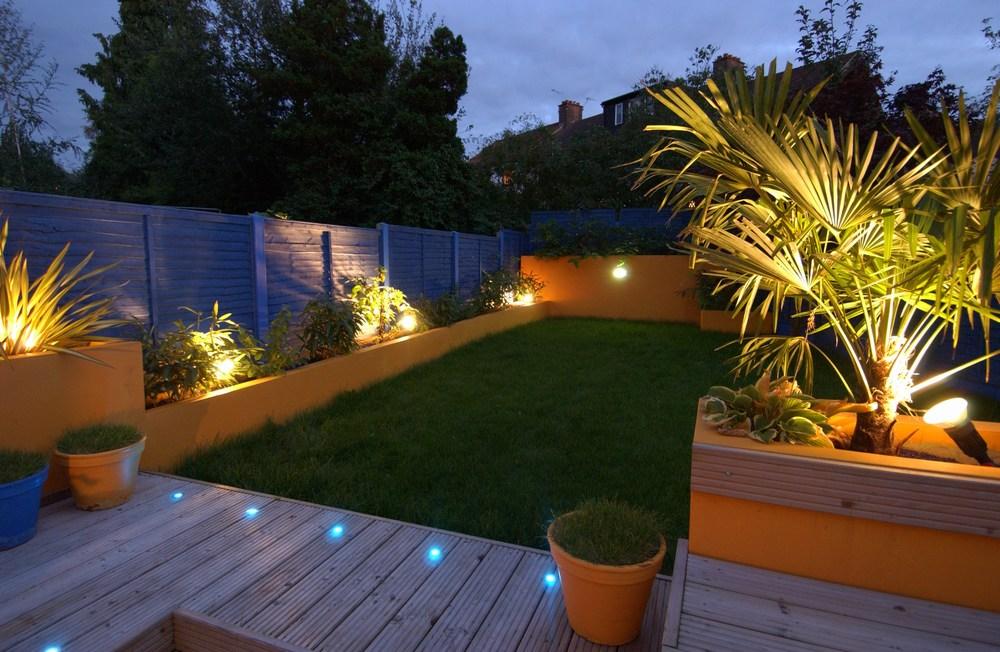 Modern family garden design in East London Earth Designs Garden