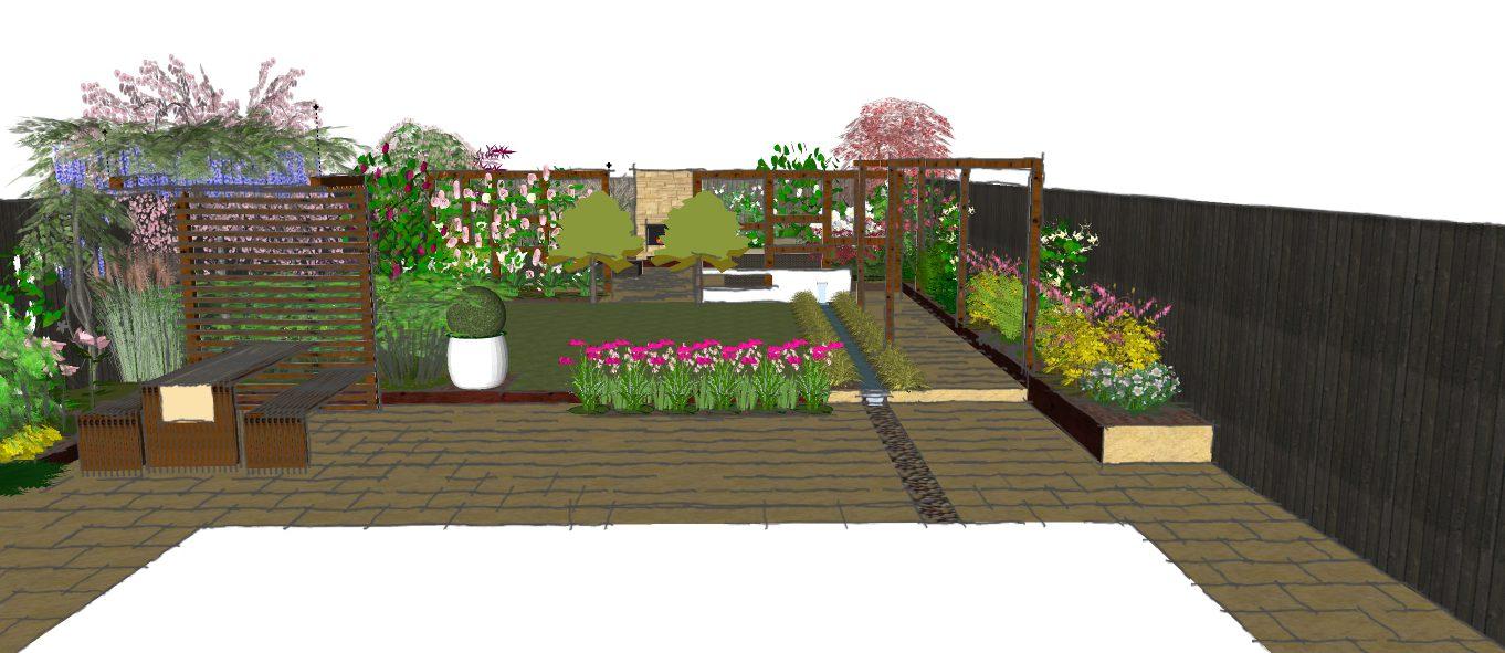 Visual 1 earth designs garden design and build for Garden design visualiser