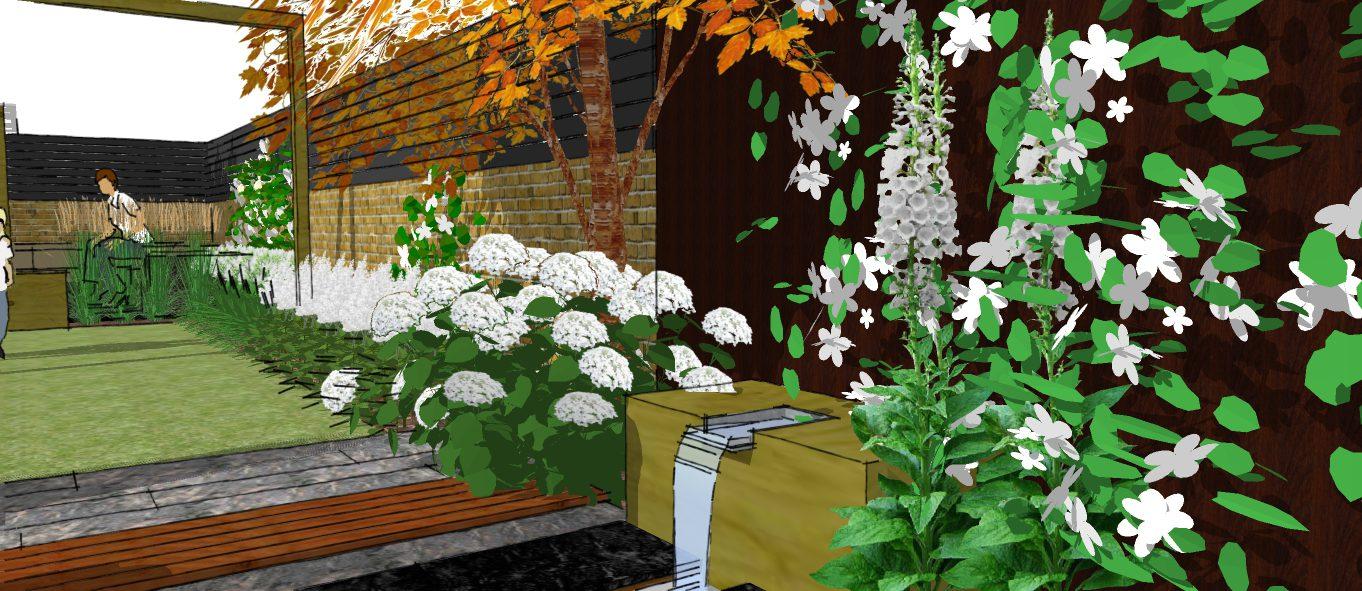 Visual 5 earth designs garden design and build for Garden design visualiser