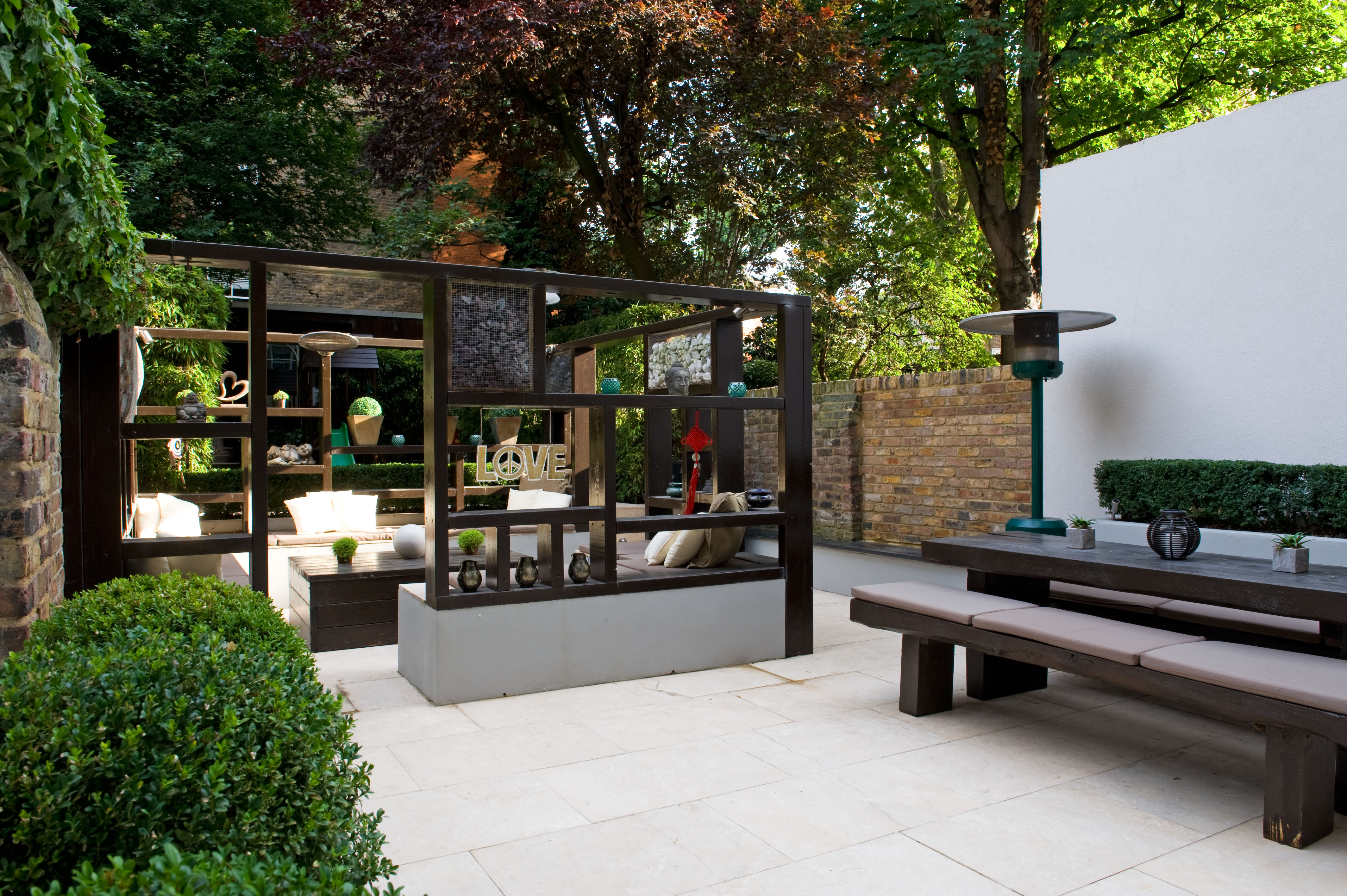 Contemporary Modern Garden Design in West London Earth Designs