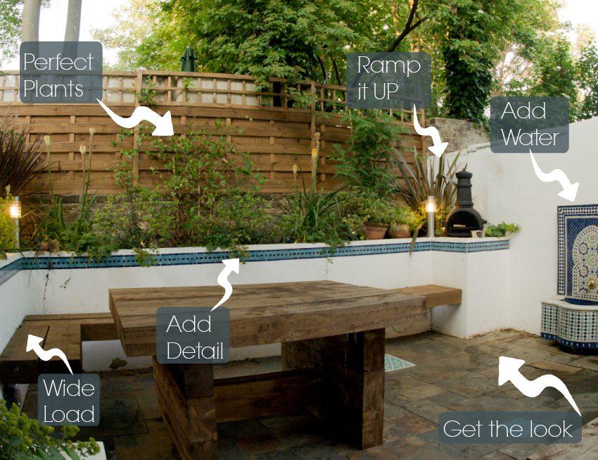 How To Create A Moroccan Courtyard Design Earth Designs Garden