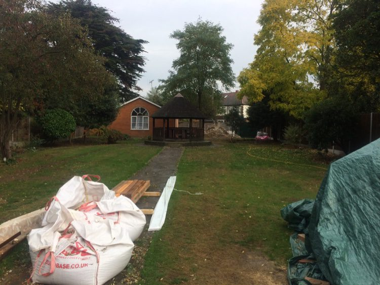 This plot in need of a South Woodford Garden Designer