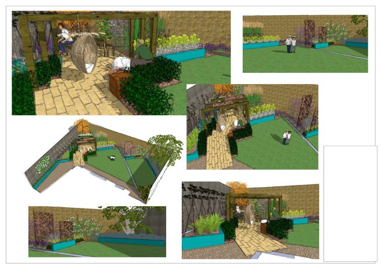Chelmsford Garden Designer Need For Our Very Shallow Wide Plot
