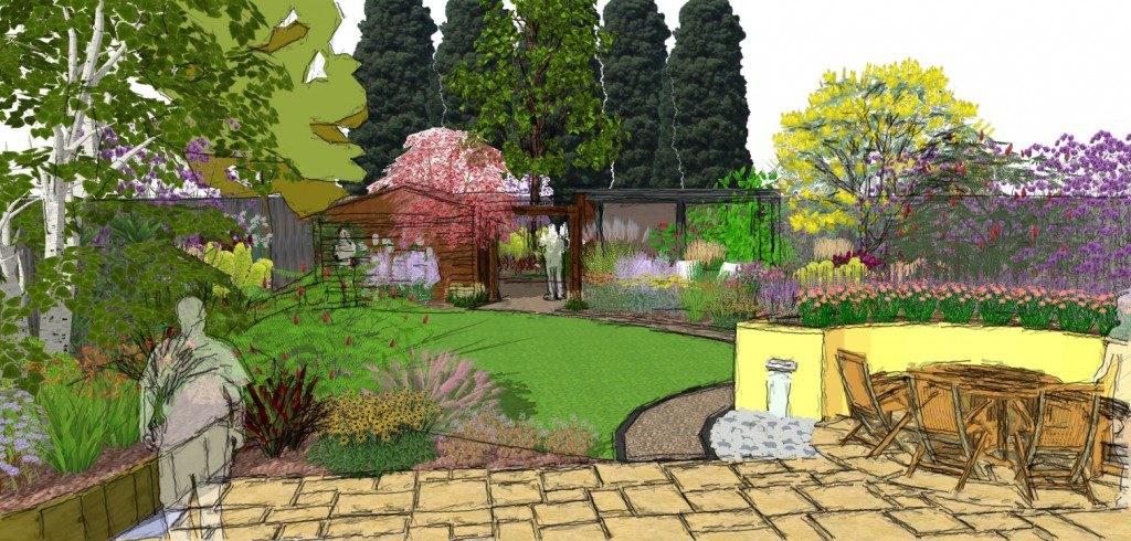 chalkwell garden designer gives space a makeover - Garden Design Essex