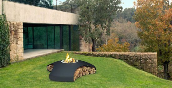 Heat things up with these fabulous garden fire pits from Urban Fires