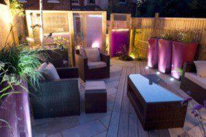 Rattan three piece suite for family garden in Essex
