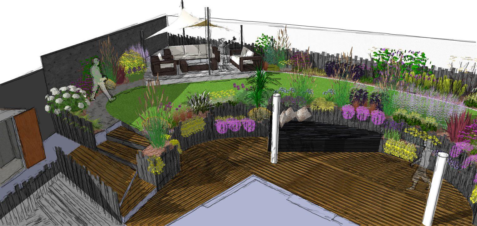 An Essex Garden Design Needed Benfleet Here We Come