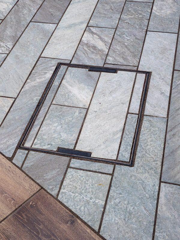 Garden Paving Design - Limestone