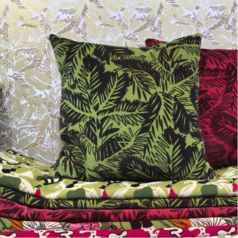 Add botanically inspired prints and patterns