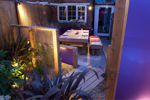 Good lighting doubles the enjoyment of your garden