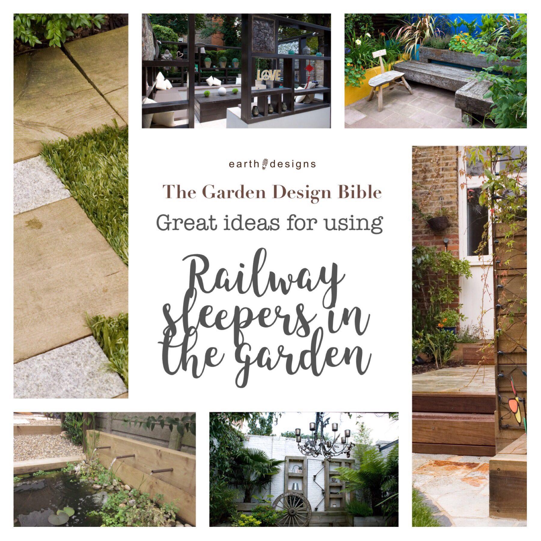 Garden Design Tips Railway Sleepers