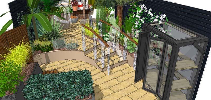 Earth Designs - new garden layout for keen gardeners