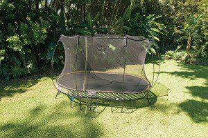 Trampoline for Leigh-on-Sea family garden