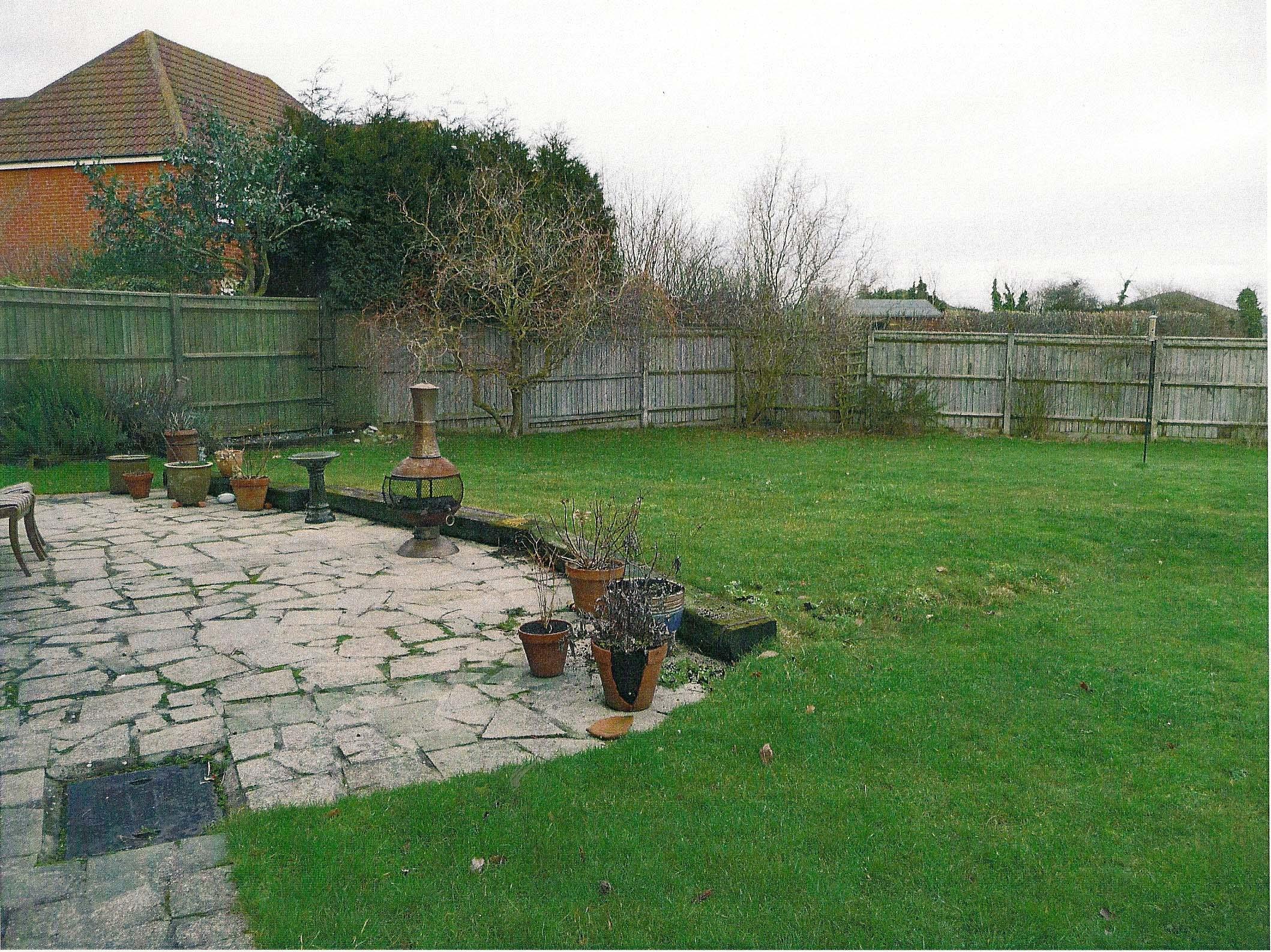 London Garden Design Before Shot