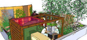 Garden Design Sketchup Perspective