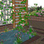 Walthamstow garden design perspective 4