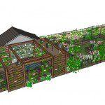 Walthamstow garden design perspective 1