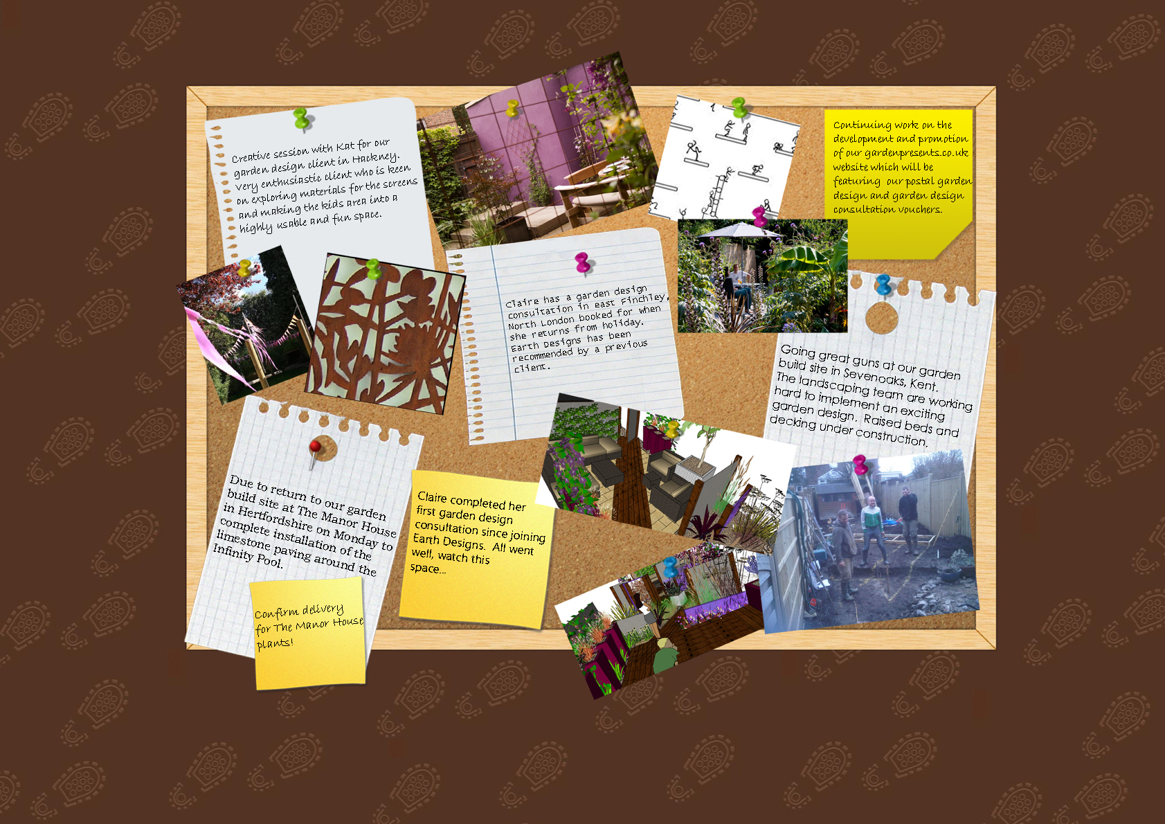 Diary of a London Garden Design and Build Company: Week 3 2011