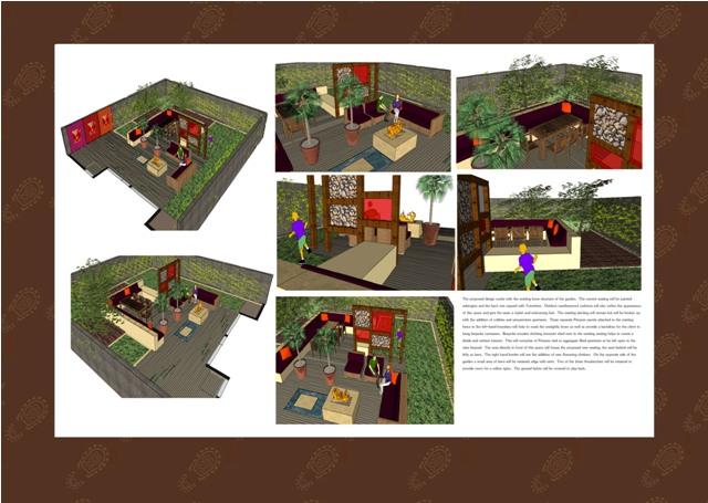 Garden Design London Dulwich Visuals