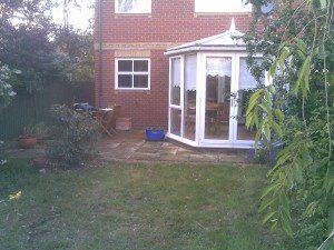 Essex Garden Design Before Shot 2