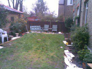 Garden Design Kent Before Shot 1