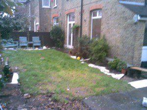 Garden Design Kent Before Shot 2