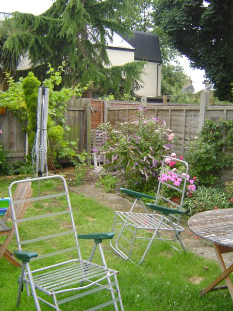 Garden Design West London Before Shot