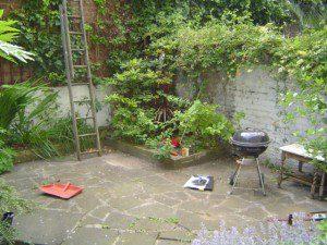 Garden Design Manchester Before Shot