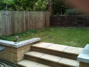 Garden Design South London Before Shot