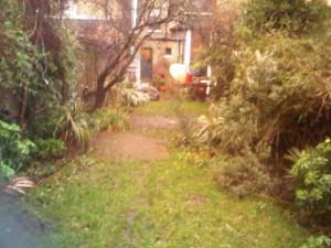 Hackney Garden Before Shot 3